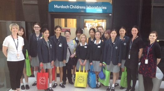 Methodist Ladies College have been supporters of CIKA for many years. In November each year the students visit the CCC lab and undertake a tour with Dr Louise Ludlow who Is establishing a world class Tissue Bank with the support if CIKA.